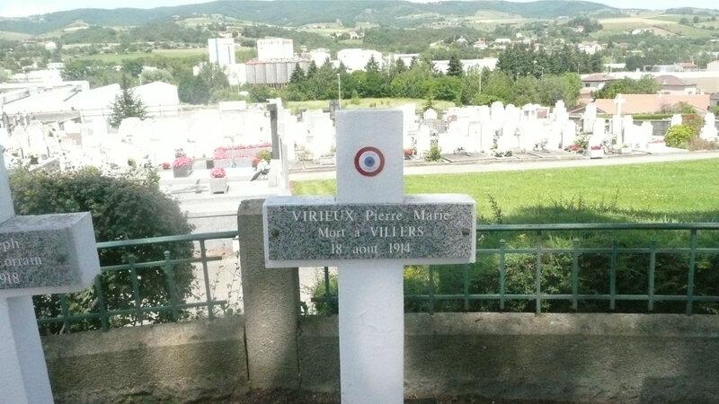 Pierre Viriieux, tombe