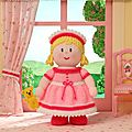 Princess penelope and snuggles - dolly mixtures - jean greenhowe