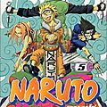 Naruto, tome 5 : les rivaux de masashi kishimoto