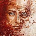 Technique mixte (peinture acrylique & collage