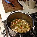 Velouté de légumes aux quatre épices