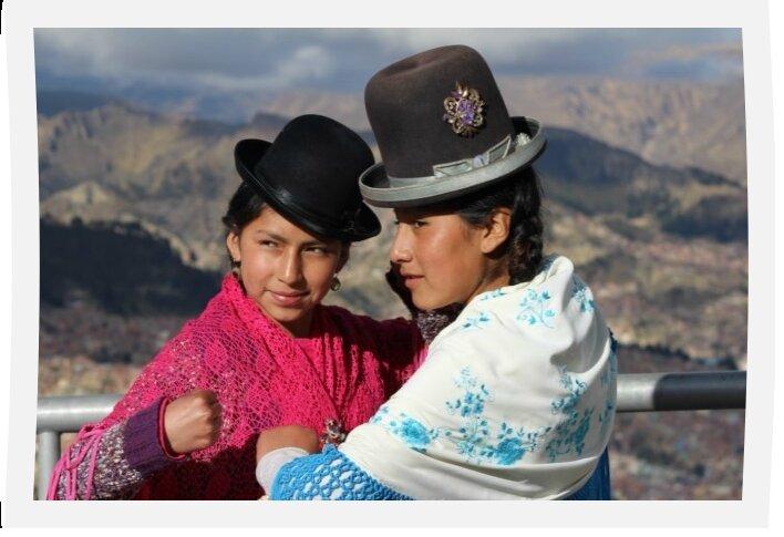 Lucha libre de las cholitas ou petite activité à la Paz un dimanche après-midi de vacances