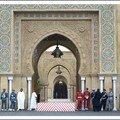 الباب الرئيسي للقصر الملكي بالرباط