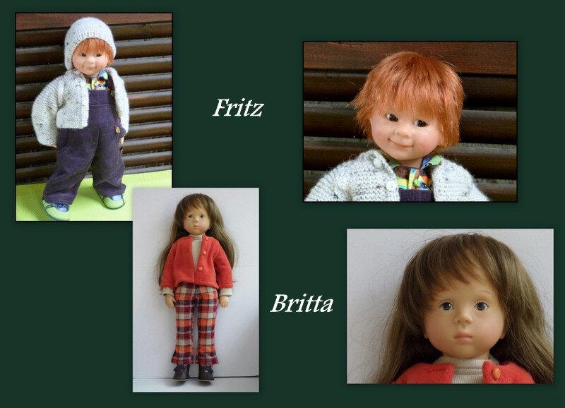 poupées à vendre