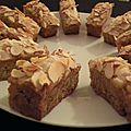 <b>Mini</b> <b>cakes</b> spicy à la pomme et aux amandes