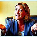 Marine le pen, présidente du front national sur rt france le 20/05/2016