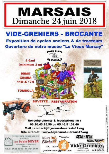 vide-greniers-brocante-expo-cycles-anciens-tracteurs-Marsais-17_l_252788