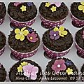 cupcake chocolat deco pate a sucre 1