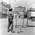 Les Américains entrent dans <b>Carentan</b>