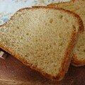 Brioche à la farine de châtaignes