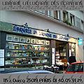 LIBRAIRIE LA LUCARNE DES ECRIVAINS (PARIS 19°)