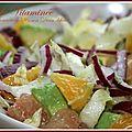 Salade vitaminée agrumes avocat