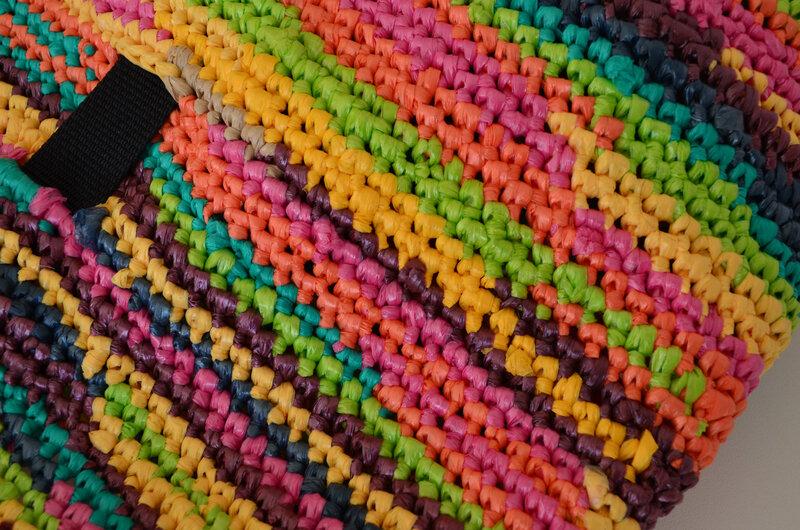 Cabas en sacs plastique recyclés-DIY-crochet- récup-upcycling-tote bag-La chouette bricole (4)