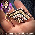 #brick stitch : des bo géométriques