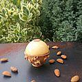Sphere choco-caramel