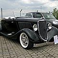 <b>Ford</b> roadster-1933
