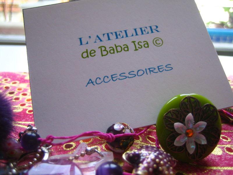 L'ATELIER DE BABA ISA porte boutique