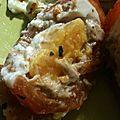 <b>Tomate</b> farcie à l'œuf