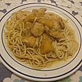 Blanc de poulet mariné à la sauce soja et à la mangue au rhum <b>brun</b>
