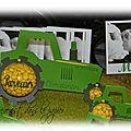 Dragée tracteur