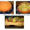 Gâteau rapide aux poireaux et lardons