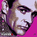 Nuancier pop'art E, Sean Connery