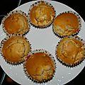 Muffins pomme pain d'epices