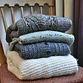 Et toi qu'as-tu tricoté/crocheté en 2017?