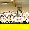 63 les Mosellans rendent hommage à Maitre Tamura