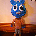 Le chat Gumball(28cm)