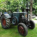 LANZ Bulldog type D8506 <b>tracteur</b> agricole