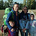 Albéric, Hélène, Olivia et Toni, 18 octobre