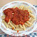 Penne à la sauce tomate