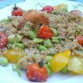 Quinoa aux saveurs d'asie.... parfait pour un diner en amoureux