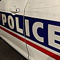 Haute-Vienne : Deux <b>policiers</b> sérieusement blessés après une course-poursuite et des violences