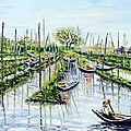 <b>Birmanie</b> <b>Lac</b> <b>Inle</b> jardins flottants: la merveille de la <b>Birmanie</b>