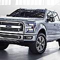 Carrosserie en aluminium pour le nouveau pick-up de ford
