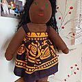 Des poupées couleur chocolat