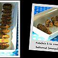 Falafels à la courge butternut (musquée)