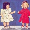 Réclame: poupée lisette 1955