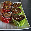 Muffins <b>Mi</b>-<b>Cuit</b> Coeur Spéculoos