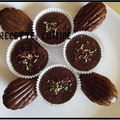 Madeleines au cacao