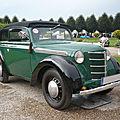 OPEL Kadett K38 Cabrio-Limousine 1937 Schwetzingen (1)