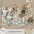 kit cold november de <b>Yas</b>