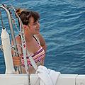 Les plus beaux sites du Péloponnèse en voilier - Jour J+4 : Départ d'Alonaki et arrivée à Epidhavros. Fort coup de vent.