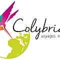 Logo colybride - voyages nature