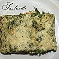 lasagne saumon <b>épinard</b>