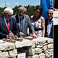 <b>Monteux</b> : Le parc Spirou pose sa première pierre