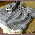 blouse plissée