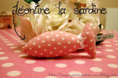 Léontine la sardine